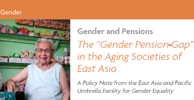 The Gender Pension in the Ageing Societies of East Asia