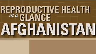 Afghanistan - Reproductive Health at a Glance