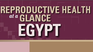 Egypt - Reproductive Health at a Glance