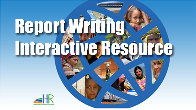 Report Writing Learning Resource (Interactive)