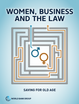 Saving for Old Age - Women, Business and Law