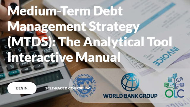 Medium-Term Debt Management Strategy (MTDS): The Analytical Tool Interactive Manual