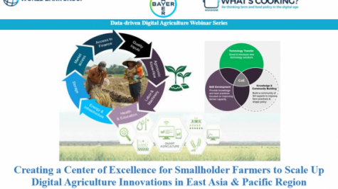 Digital Ag Series - Creating a Center of Excellence for Smallholder Farmers to Scale Up Digital Agriculture Innovations in East Asia & Pacific Region