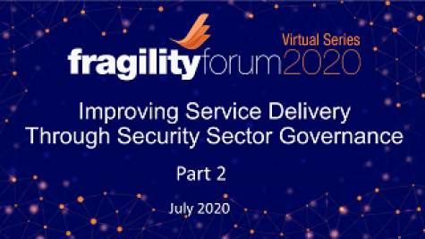 Design Thinking Workshop - Improving Service Delivery Through Security Sector Governance - Part 2