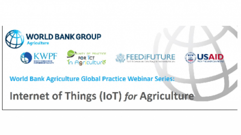 Internet of Things (IoT) for Agriculture Webinar Series