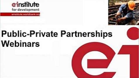 Public-Private Partnerships Webinars
