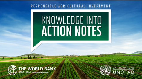 Responsible Agricultural Investment (RAI): Knowledge into Action Notes series