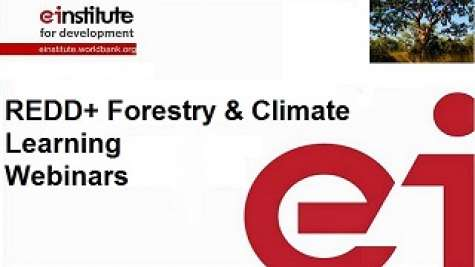 REDD+ Forestry and Climate Learning Webinars