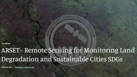 NASA ARSET Learning Series - Remote Sensing for Monitoring Land Degradation and Sustainable Cities SDGs