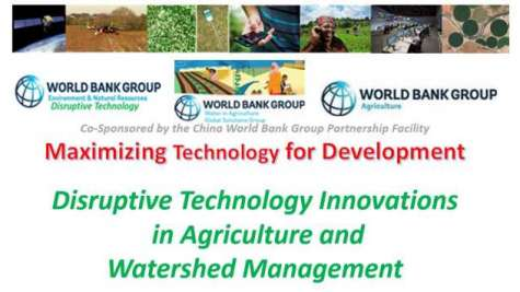 Setting the Context: Disruptive Technology in Agriculture and Watershed Management