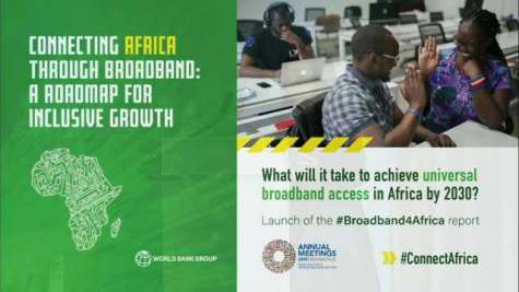 Connecting Africa through Broadband: A Roadmap for Inclusive Growth