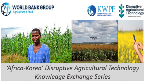 'Africa-Korea' Disruptive Agricultural Technology (DAT) Knowledge Exchange Series