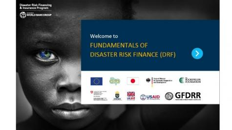 Fundamentals of Disaster Risk Finance