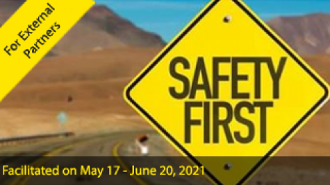 Think Road Safety - Road Safety Training for External PARTNERS (facilitated)