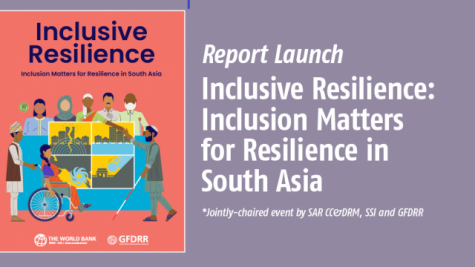 Publication Launch Event for Inclusive Resilience: Inclusion Matters for Resilience In South Asia