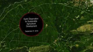 Earth Observation in Agriculture Development: Applications and Demonstrations