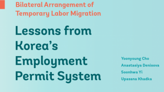 Policy Brief: Lessons from Korea's Employment Permit System - Bilateral Arrangement of Temporary Labor Migration