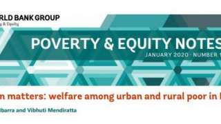 "Poverty & Equity Note 18: ""Location Matters: Welfare Among Urban and Rural Poor in Djibouti"" By Gabriel Lara Ibarra and Vibhuti Mendiratta"