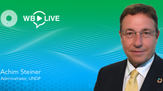 Global Voices Interview Series: UNDP Administrator Achim Steiner