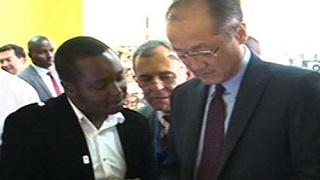 Jim Yong Kim: African Technology Boon to Business