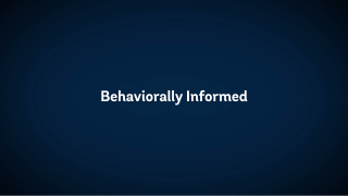 The State of Economics: Behaviorally Informed