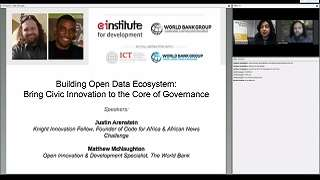 Building Open Data Ecosystem: Bring Civic Innovation to the Core of Governance