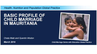 Basic Profile of Child Marriage in Mauritania