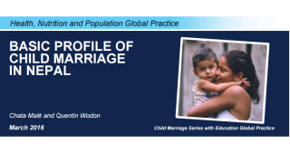 Basic Profile of Child Marriage in Nepal