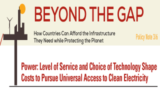 Power: Level of Service and Choice of Technology Shape Costs to Pursue Universal Access to Clean Electricity