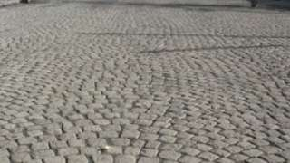 Cobblestone Streets in Cities of Ethiopia