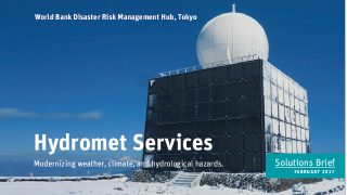 Hydromet Service: Modernizing Weather, Climate, and Hydrological Hazards