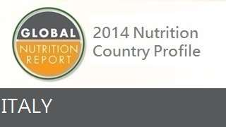 IFPRI Global Nutrition Country Profile: Italy