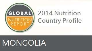 IFPRI Global Nutrition Country Profile: Mongolia