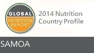 IFPRI Global Nutrition Country Profile: Samoa