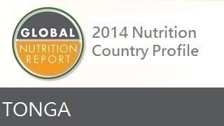 IFPRI Global Nutrition Country Profile: Tonga