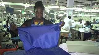 Training Workers to Build Garment Industry in Ghana