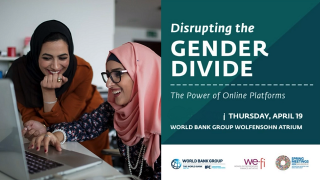 Disrupting The Gender Divide: The Power of Online Platforms