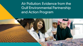 Air Pollution : Evidence from the Gulf Environmental Partnership and Action Program