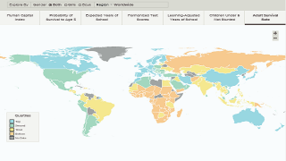 Explore the Human Capital Index with this interactive map