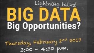 Big Data, Big Opportunities? Introductory Remarks