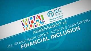 Financial Inclusion - A Foothold on the Ladder toward Prosperity
