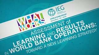 How Does the World Bank Learn from its Operations?