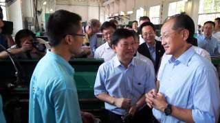 Jim Yong Kim: Education is a Good Investment in China - Podcast