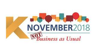 KNovember 2018: Not Business As Usual
