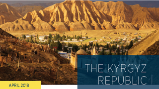 Energy Subsidy Reform Facility (ESRF) Country Brief- Kyrgyz Republic