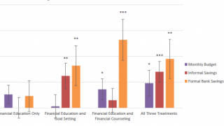 The ABCs of Financial Education : Experimental Evidence on Attitudes, Behavior, and Cognitive Biases