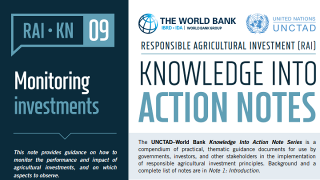 RAI Knowledge Into Action Notes: Monitoring Investments