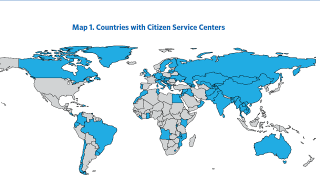 Recent Developments and Key Considerations Impacting the Operations of One-Stop Shops for Citizens : A Summary of Major Trends and a Design Guide for Citizen Service Centers