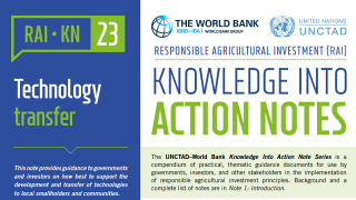 RAI Knowledge Into Action Notes: Technology Transfer