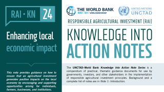 RAI Knowledge Into Action Notes: Enhancing Local Economic Impact
